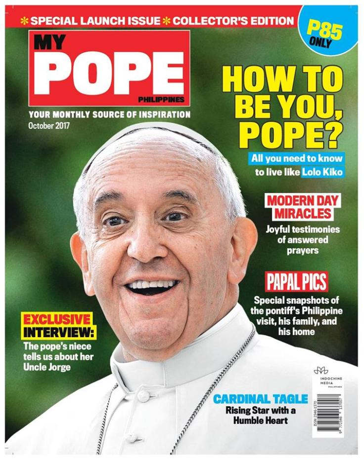 My Pope October 2017 cover